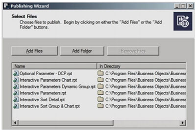 crystal 9 - Crystal Reports® Server