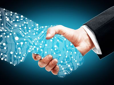 digital transformation web blue - HR аналитика