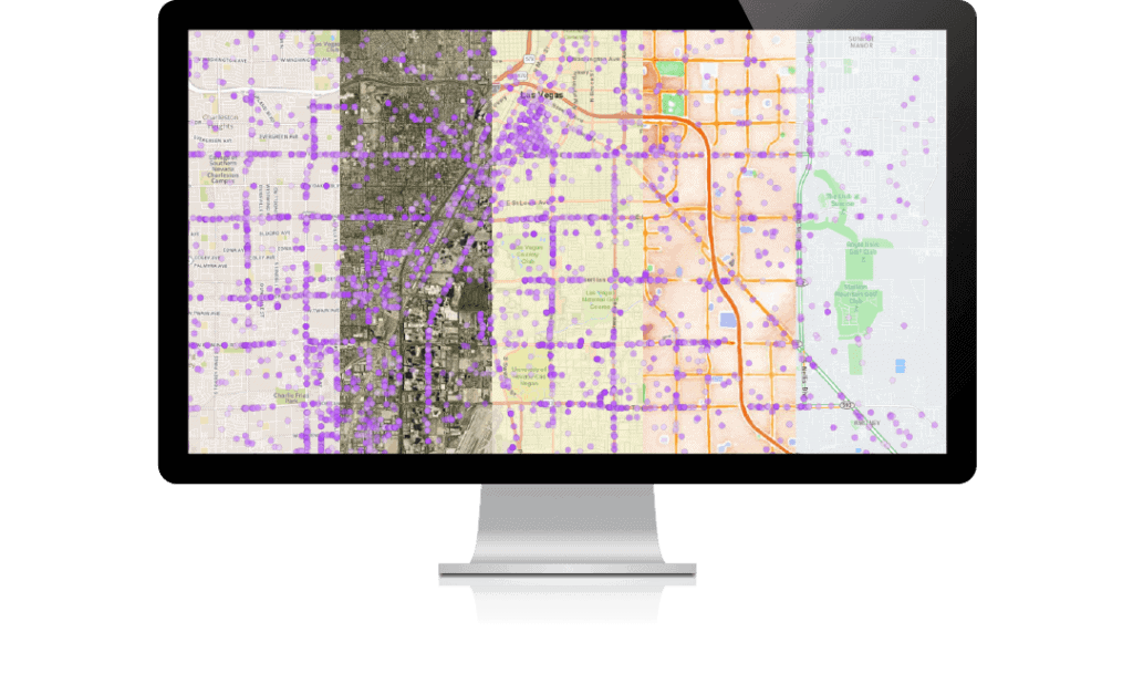 benefits screenshot display third party maps 1024x609 - Аналитика местоположения -Геоаналитика