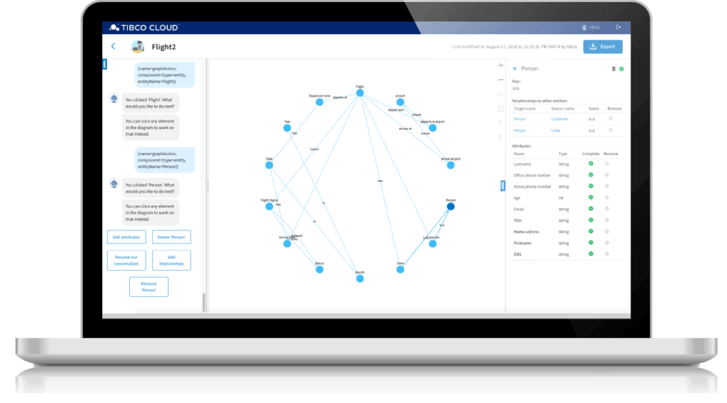benefits screenshot laptop optimize assets and processes 1024x569 - TIBCO® Graph Database - хранилище данных