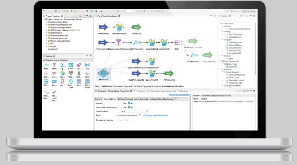realtime analytics benefit screenshot laptop built in data wrangling 1024x569 - Аналитика в реальном времени: TIBCO Spotfire