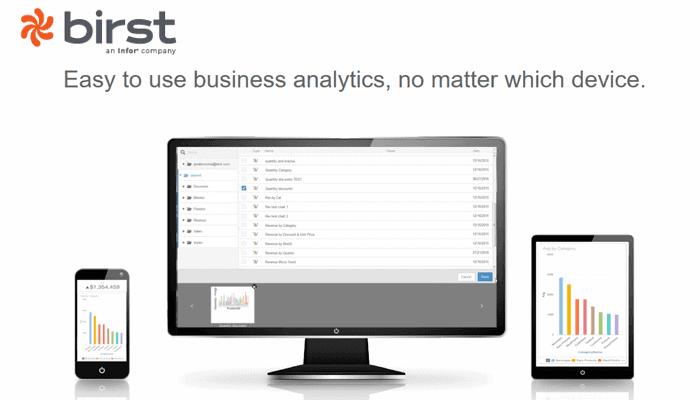 birst - 20 самых популярных инструментов бизнес-аналитики (BI)