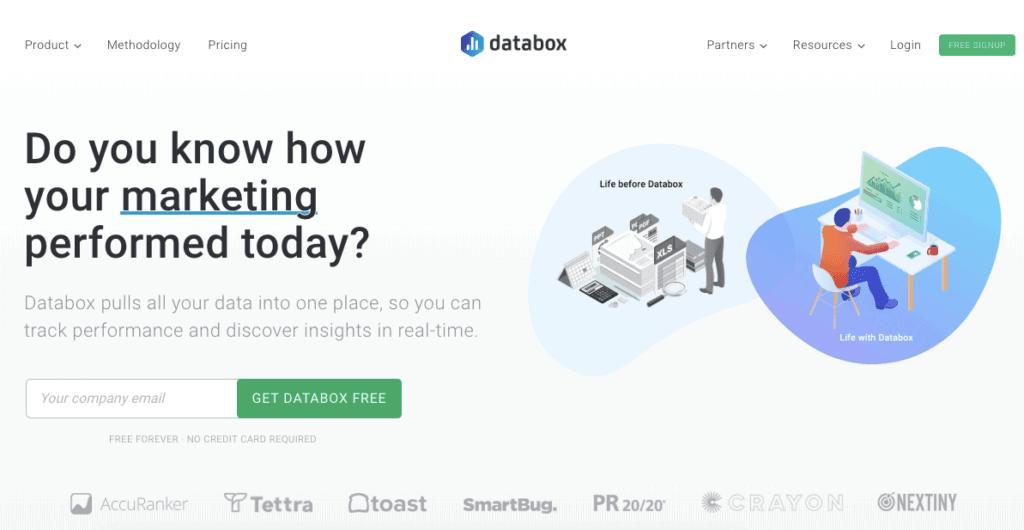databox homepage 1024x530 - Что такое KPI