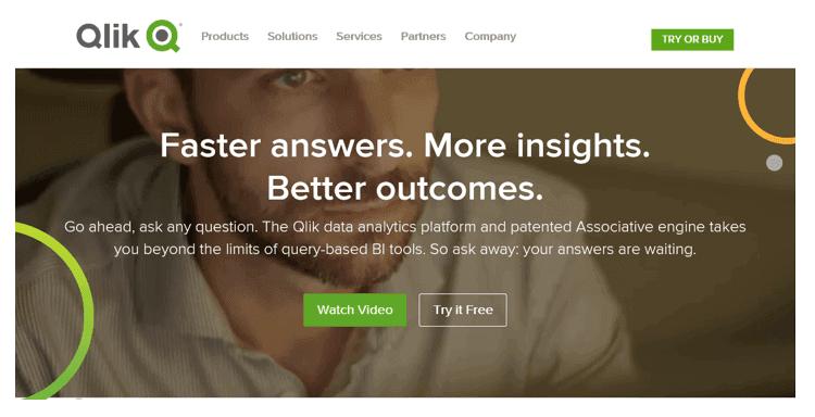 qlink - 20 самых популярных инструментов бизнес-аналитики (BI)