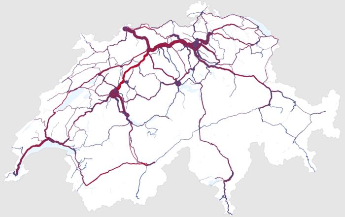 swiss train 2x 700x441 - Алгоритм Δλ: каркас визуализации и виды осей