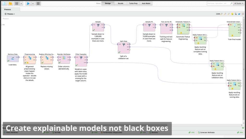 create explainable models 1024x579 - RapidMiner дизайнер аналитических процессов
