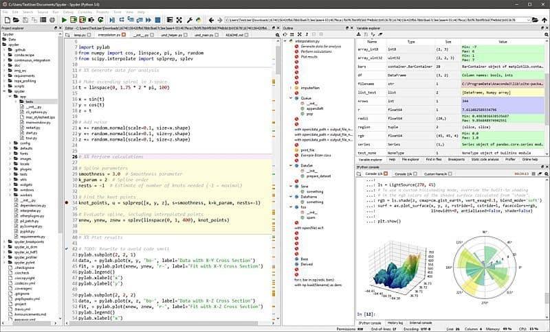 hr analytics tool spyder python - Лучшие 9 инструментов HR аналитики