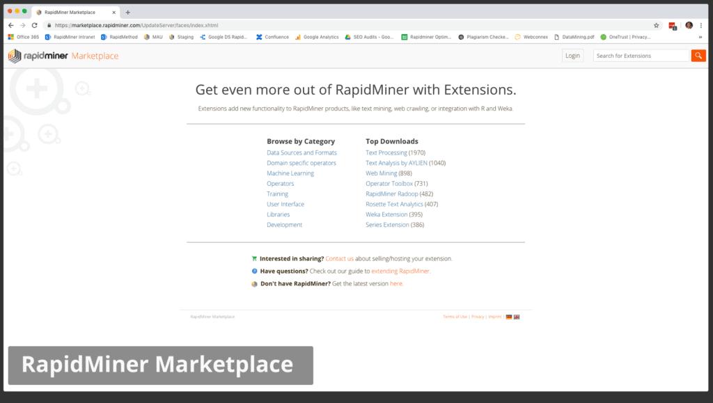marketplace 1024x579 - RapidMiner дизайнер аналитических процессов
