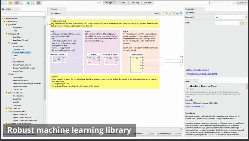 ml library 1024x579 - RapidMiner дизайнер аналитических процессов