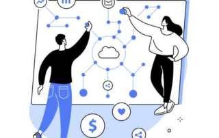 blue ink 45 technology illustration by vige.co 16 2 320x202 - Как сделать SWOT анализ для вашего бизнеса (с примерами)